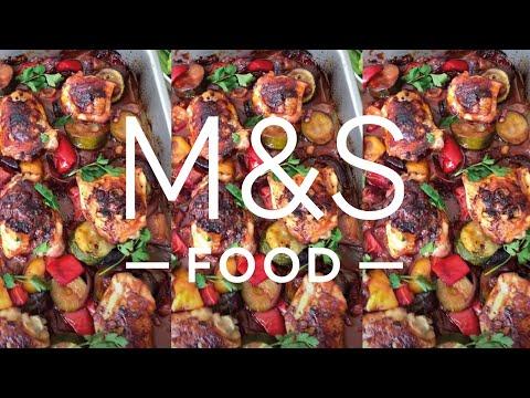 M&S Food   Cook With M&S...Mediterranean Chicken Traybake