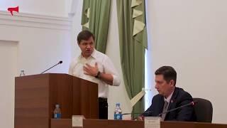 Выступление кандидата в мэры Владивостока, Веркеенко Виталия Васильевича