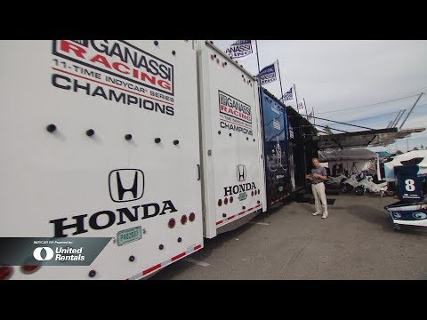 INDYCAR 101 Powered by United Rentals: Team Transporter / Mobile Office