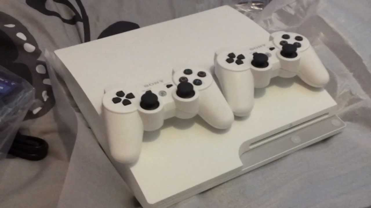 WHITE PS3 Slim 320Gb unboxing ( - 38.3KB