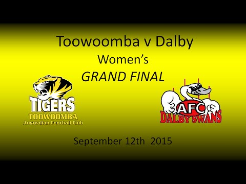 AFL Darling Downs Womens Grand Final 12.9.15