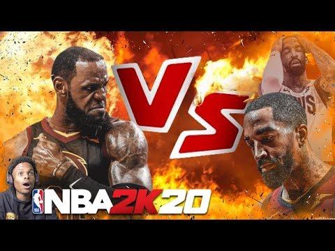 NBA 2K20 LEBRON JAMES VS JR SMITH!! REVENGE GAME  