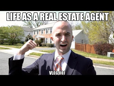 LIFE AS A REAL ESTATE AGENT | VLOG 001