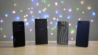 Smartphone Shootout: Samsung Galaxy A8 vs honor View 10 vs Moto X4 vs Sony Xperia XA2 Ultra