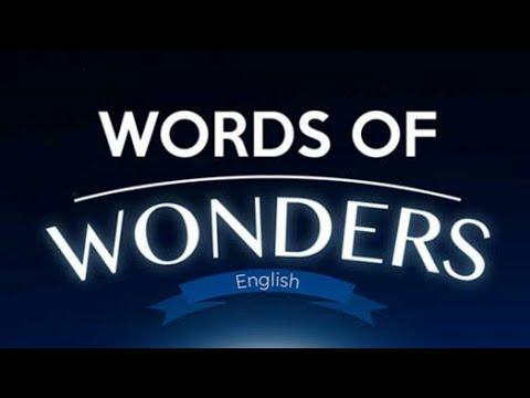 Words of wonders (Wow) FRANSA CEVAPLARI