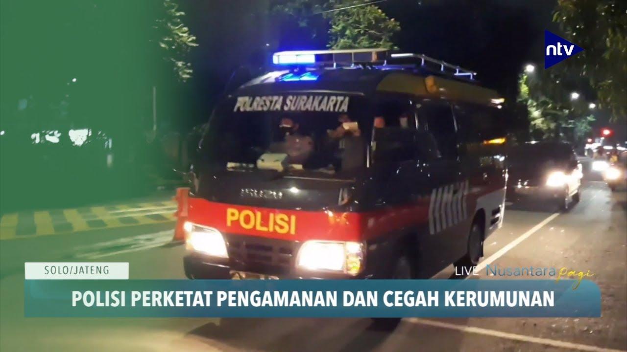 Jelang Penetapan Gibran, Polisi Perketat Pengamanan Kota Solo
