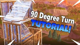 How To Do 90 Degree Turns! - Fortnite Tips And Tricks (Ep.2)