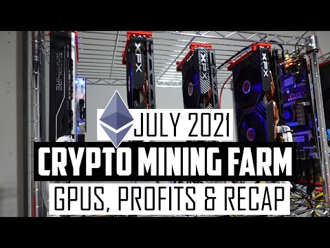 Download Crypto Mining Farm Update July 2021 - GPUs, Rigs, Profits & More!