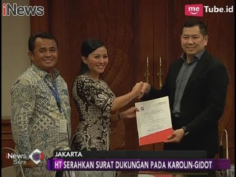 Resmi!! Partai Perindo Mendukung Paslon Karolin-Gidot Di Pilkada Kalbar - INews Sore 24/02