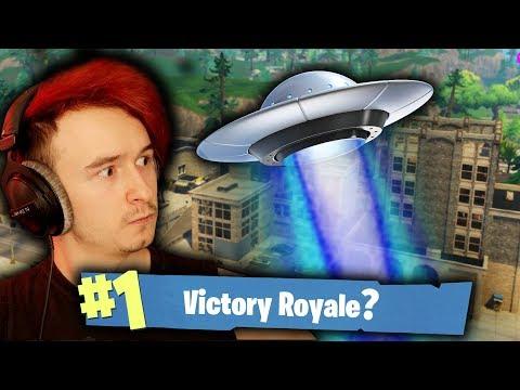 🔥 ATAK UFO NA TILTED TOWERS?!   FORTNITE BATTLE ROYALE