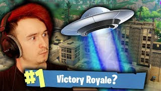 ATAK UFO NA TILTED TOWERS?! | FORTNITE BATTLE ROYALE