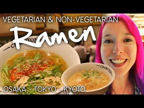 Vegetarian Ramen in Osaka / Tokyo at CHABUTON