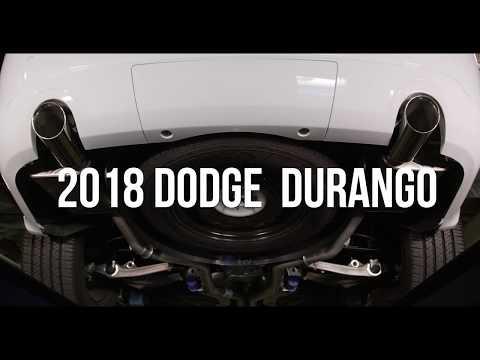Durango   Axle Back Dual Exhaust
