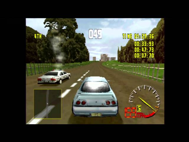 Test Drive 5 (PS1) gameplay
