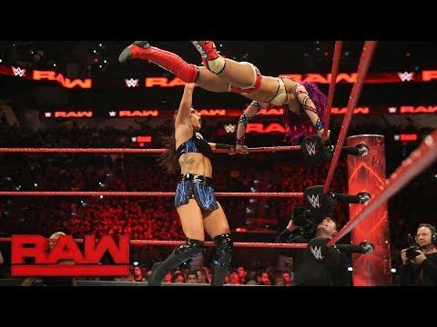 Sasha Banks vs. Sonya Deville: Raw, Jan. 15, 2018