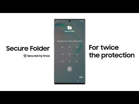 Galaxy Note10: Secure Folder Secured by Knox | Samsung