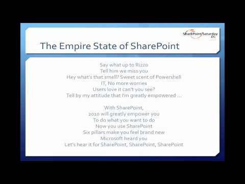 Empire State of SharePoint Karaoke