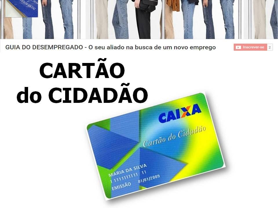 Cartão Cidadão pessoal