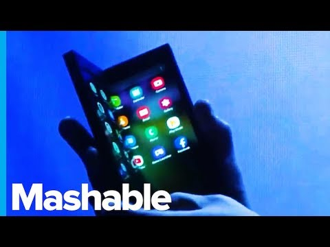 Samsung Finally Showed Us Its First Foldable Phone — Future Blink