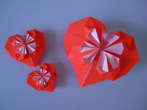 DIY: Herz falten / Fold the heart