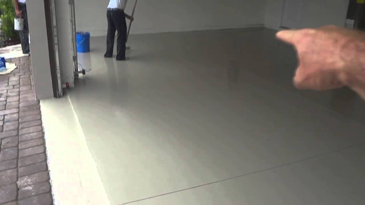Dr Phillips Garage Floor Epoxy  YouTube