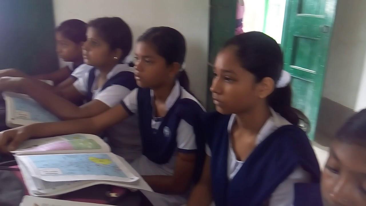 Geography teaching in ganeshpur high school west Bengal