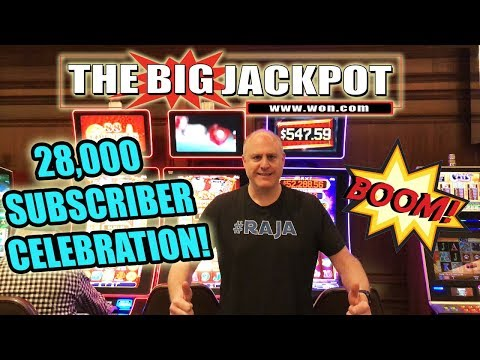 🔴 Massive High Limit Slot Celebration 28000 Subscribers🎰💣