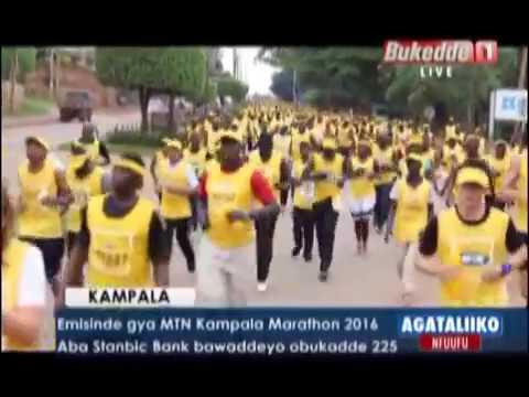 SPORTS: Emisinde gya MTN Kampala Marathon 2016