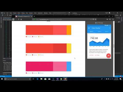 Xamo Toolkit: Add Theme File and Changing Colors