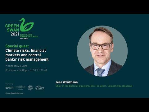Special guest speech by Jens Weidmann   Green Swan Conference