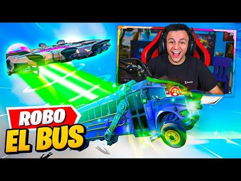 ¡ROBO EL BUS DEL BATTLE ROYALE!! *EL MAYOR BUG TEMPORADA 7*