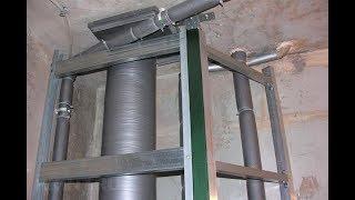 Шумоизоляция канализационных труб SoundGuard Membrane 3.9 Звукоизоляция фановой трубы