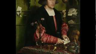 Holbein the Younger, the Merchant Georg Gisze