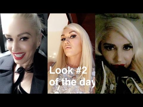 Gwen Stefani on Snapchat   Revlon and The Tonight Show   Full Video   February 15 2017