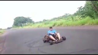 Go Kart with 4-cylinder TURBO engine