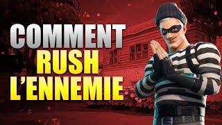 COMMENT RUSHER LES JOUEURS sur FORTNITE BATTLE ROYALE !