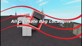 Roblox Parkour All Ultimate Bags Locations