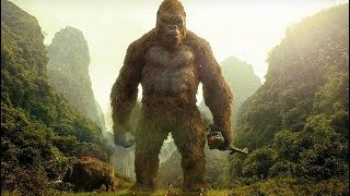 Kong Saves Giant Buffalo Scene - Kong Skull Island 2017 Movie Clip HD