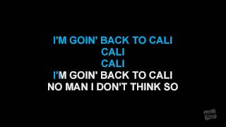 Going Back To Cali in the style of LL Cool J karaoke video with lyrics