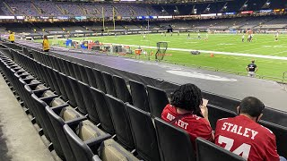 San Francisco 49ers fans return to the Superdome unfazed by COVID-19
