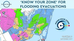 'Know Your Zone' for flooding evacuations