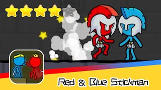 Red and Blue Stickman : Animation Parkour Day63 Walkthrough Recommend index four stars