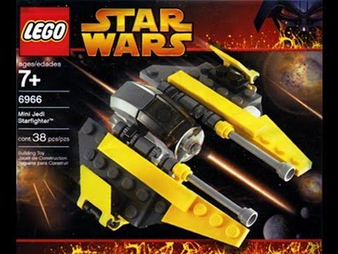 Star Wars LEGO Mini Building Set 6966 Jedi Starfighter HD Review ...