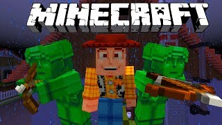 MINECRAFT TOY STORY ADVENTURES | SURVIVE SID'S HOUSE | Minecraft Xbox