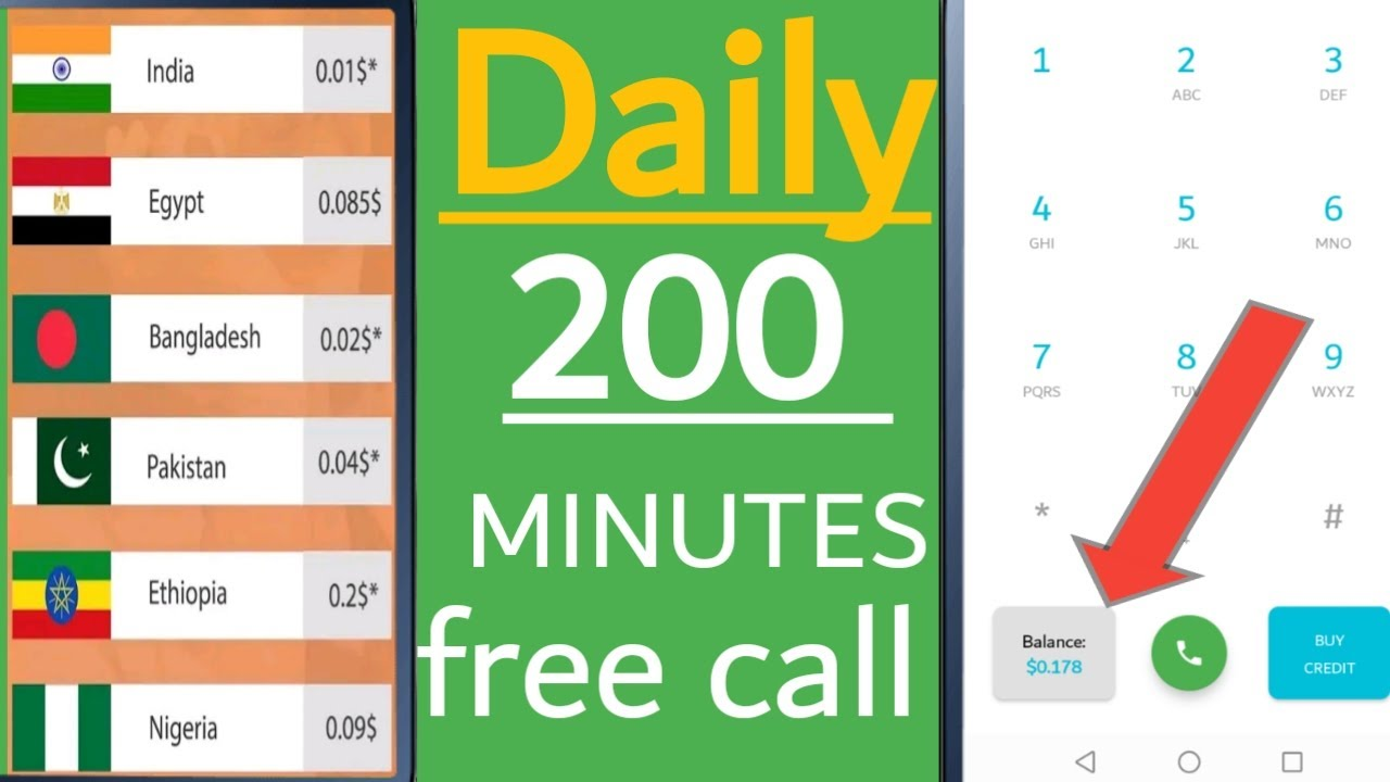 how to free call unlimited, how to use free call unlimited, free call unlimited 2020,free call India