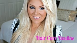 Hair Care Routine: Turn Dry Damaged Hair into Shiny Strong Hair