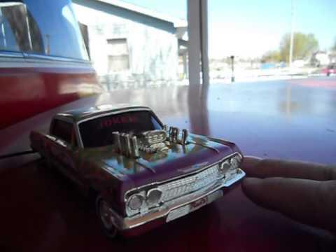 Lindberg Hoppin' Joker '63 Impala Lowrider - YouTube
