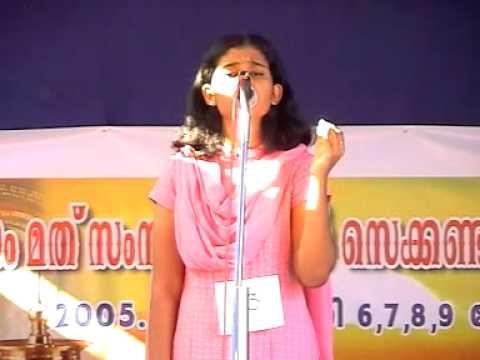 Sukhiyyavaro Raama naama-Malayalam Light Music (+Lyrics)