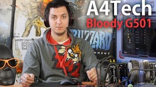 A4Tech Bloody G501: обзор игровой гарнитуры
