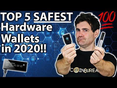 BEST Hardware Wallet: Top 5 Safest Options!! 🔓
